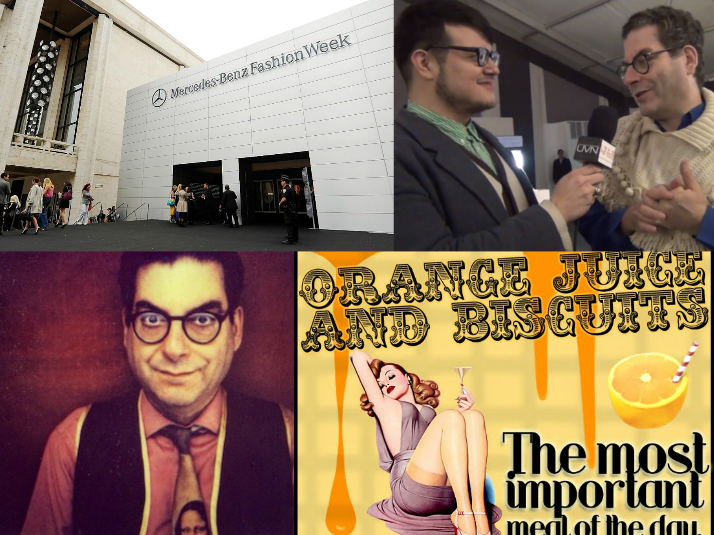 a3805e852af6 MBFW Fall 2012 Coverage  Talking With Legendary Columnist Michael Musto
